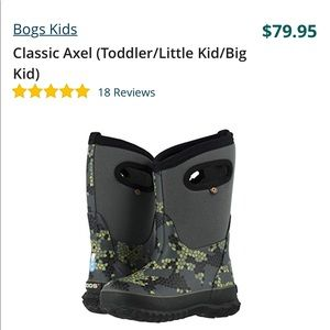 Bogs Shoes - BOGS🍂Rain/winter boots toddler Sz 7 new with tags